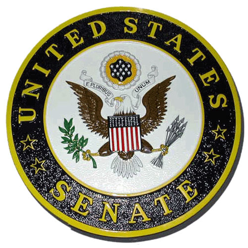 The US Senate Seal / Podium Plaque