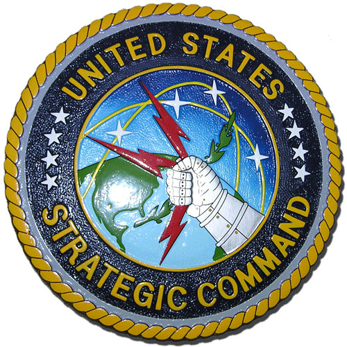 U.S. Strategic Command (USSTRATCOM) Seal Plaque