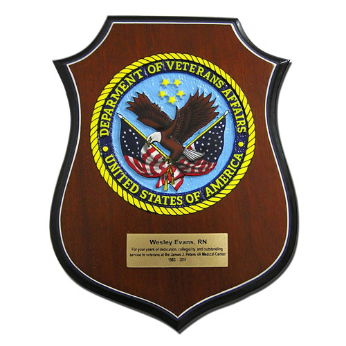US Veterans Affairs  Plaque