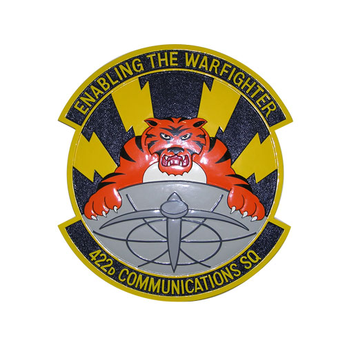 USAF 422d Communications-Sq Emblem