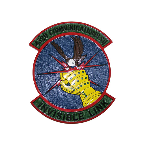 USAF 432D Communications SQ Emblem
