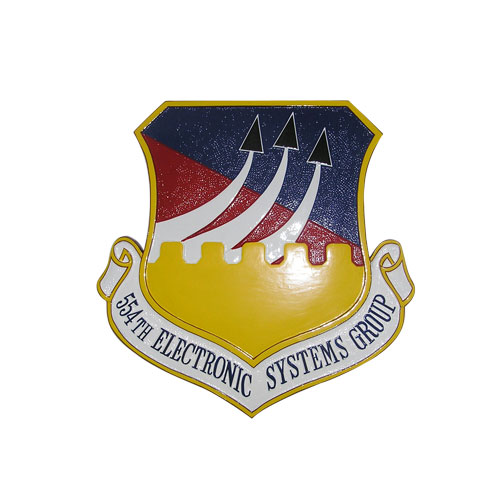 USAF 554th Electronic Systems Group Emblem
