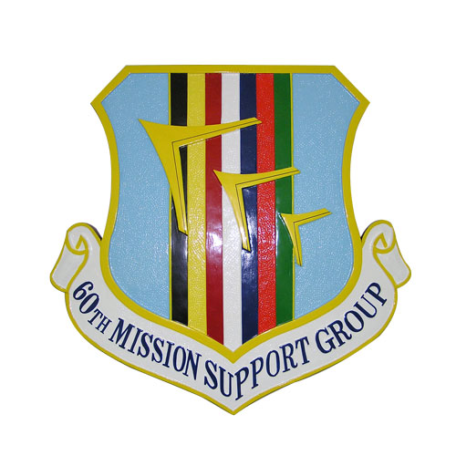 USAF 60th Mission Support Group Emblem