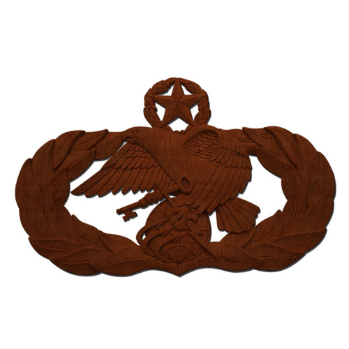 USAF Master Logistics Readiness Badge Plaque