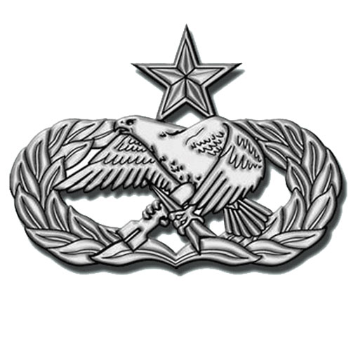 USAF Senior Maintenance Badge Plaque