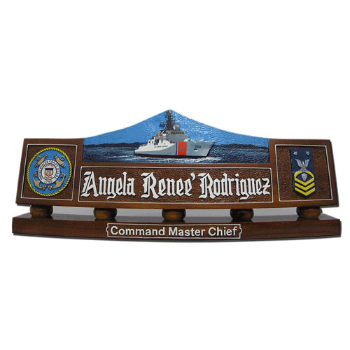 USCG Dallas (WHEC-750) Desk Nameplate