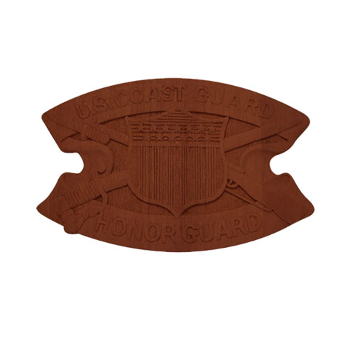 USCG Honor Guard Insignia Badge Plaque