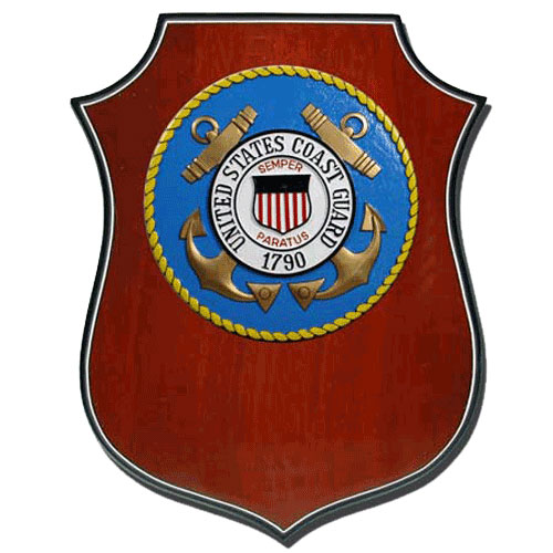U.S. Coast Guard (USCG) Shield Plaque