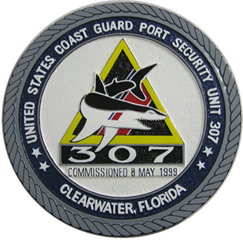 USCG Port Security Unit 307 Seal