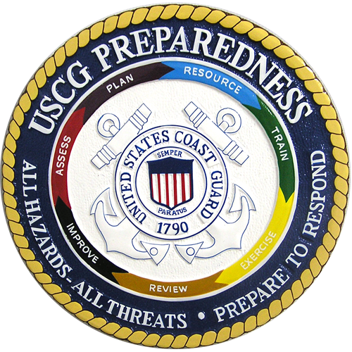 USCG Preparedness Seal