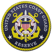 U.S. Coast Guard Reserve Seal Plaque