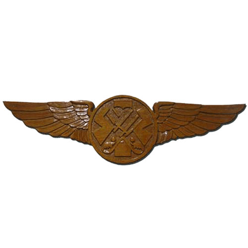 USCG Swimmer Wings Insignia Plaque