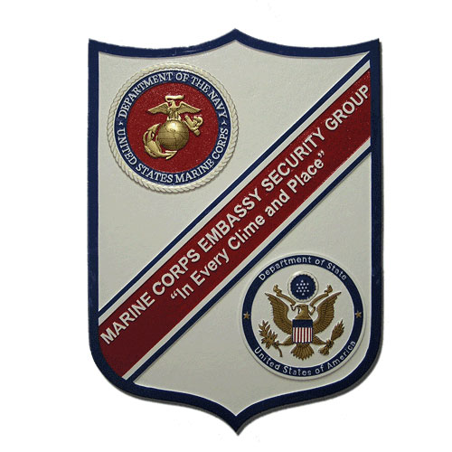 USMC Embassy Security Group Emblem