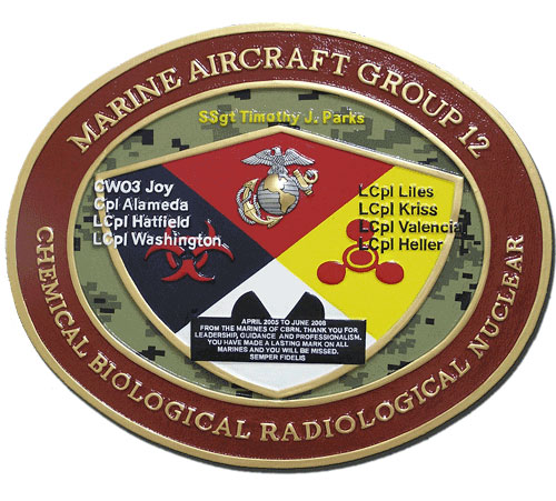 USMC Aircraft Group 12 Emblem