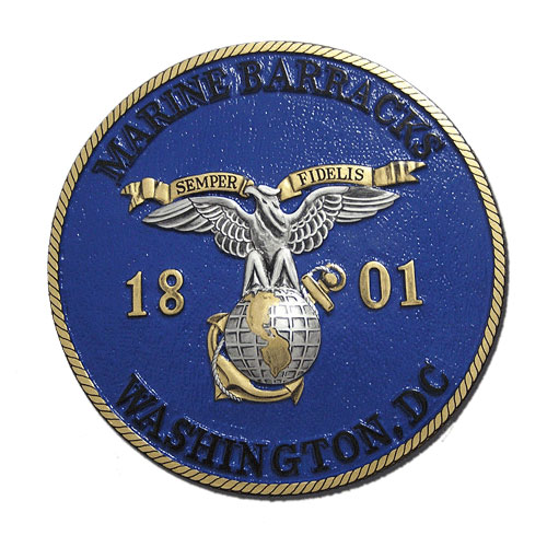 USMC Marine Barracks WA Seal