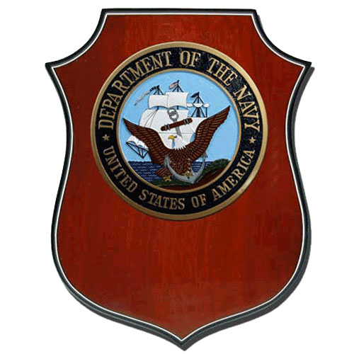 US Navy USN Plaque