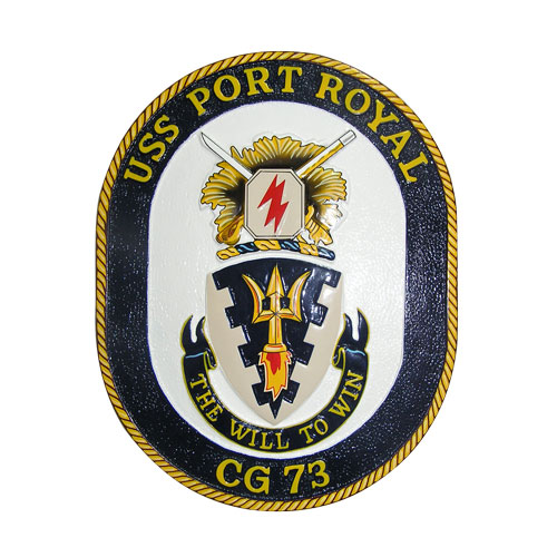 USS Port Royal CG-73 Emblem