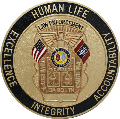 University of South Carolina Law Enforcement Seal