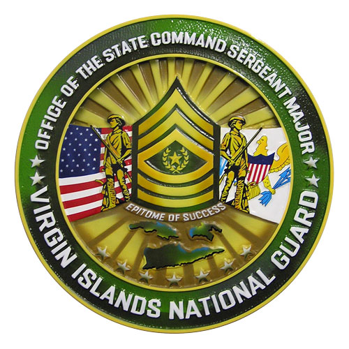 VI National Guard Office of the CSM Seal